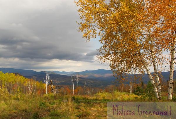 An autumn sonnet in the mountains.  Ellsworth, NH.