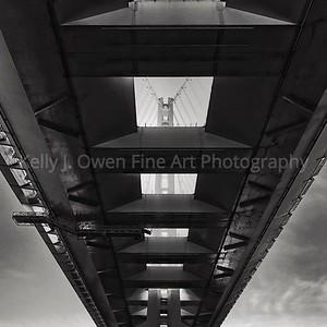 Beneath the Bay Bridge