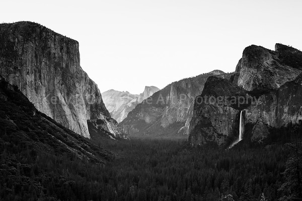 The Yosemite Valley  - June 2017