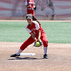 St. Anthony's Cameron Rios fields a ground ball during a softball game against Illini Bluffs in the Class 1A state championship game, Wednesday, June 16, 2021, at the Louisville Slugger Sports Complex in Peoria, Ill.