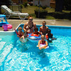 Courtney Collins, along with Elijah Collins, 4,ÊConner Linn, 10, Romey Collins, 10, Chloe Linn, 5, Anna Dando, 7, andÊLauren Dando, 5, having a wonderful day at Grandma and GrandpaÕs pool.<br /> <br /> Submitted by Amy Dando.