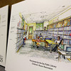 Allegra Boverman/Gloucester Daily Times. The children's room at Manchester Public Library is being completely renovated. This is a view of the new space from the back of the room itself.