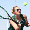 5-16-12<br /> Tennis Sectionals EHS vs Taylor, KHS vs Tipton<br /> EHS Charissa Richards playing # 1 doubles.<br /> KT photo | Tim Bath