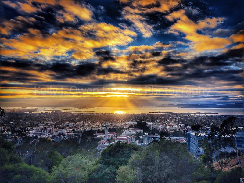 Berkeley Sunset, 2020