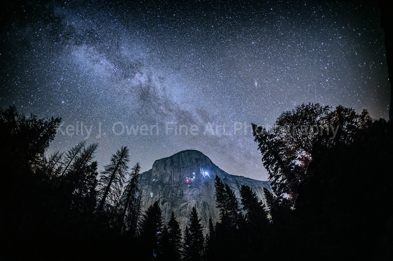 El Capitan Under the Milky Way