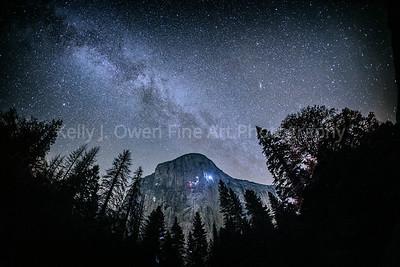 El Capitan Under the Milky Way