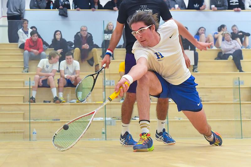 11/18/18 2:20:48 PM Squash:  Williams College v Hamilton College at Little Squash Center, Hamilton College, Clinton, NY<br /> <br /> Photo by Josh McKee