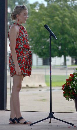 Effingham County Junior Miss Contestant Allison Shaffer