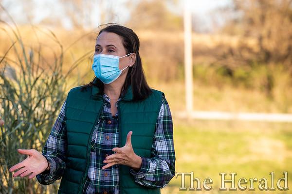 NEWS: Theresa Greenfield visits Marion County