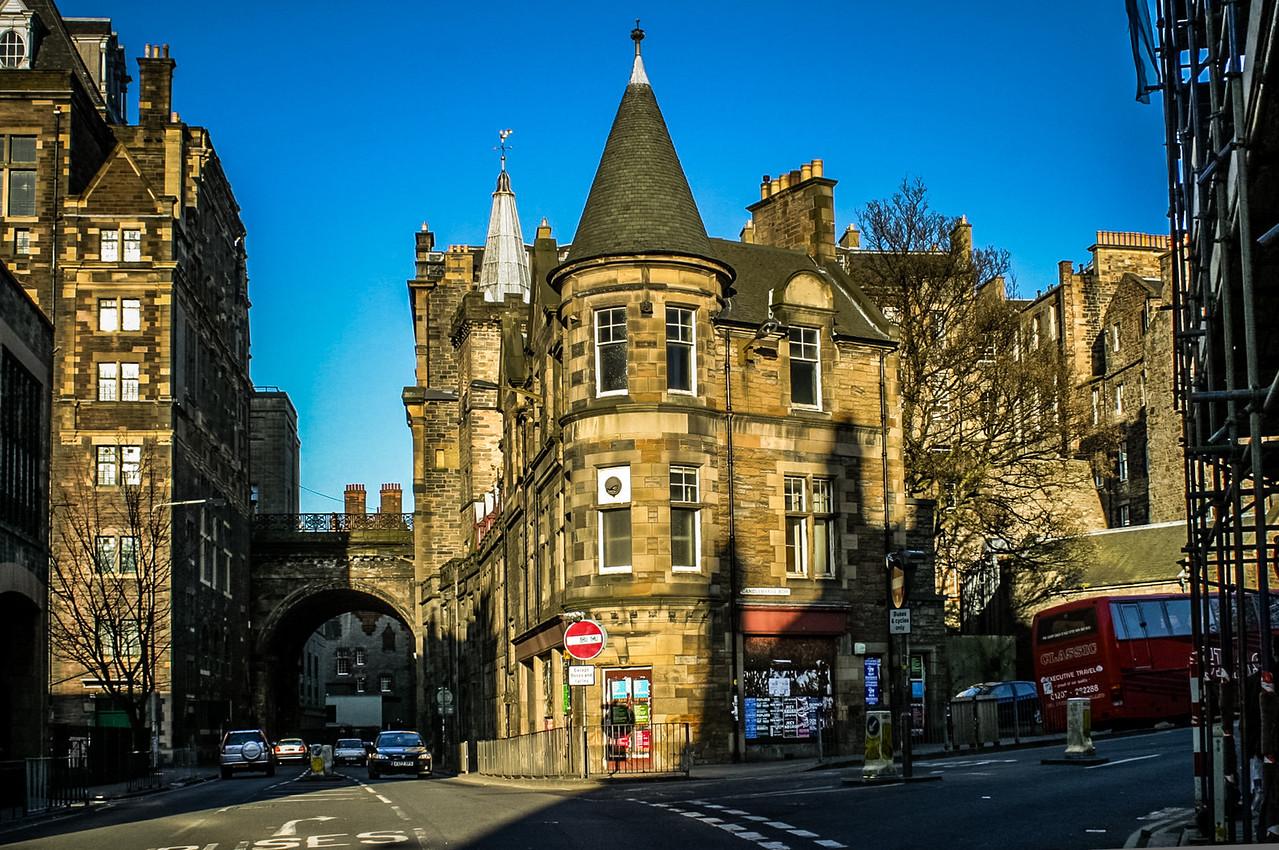 Cnr Candlemaker Row & Cowgate, Edinburgh