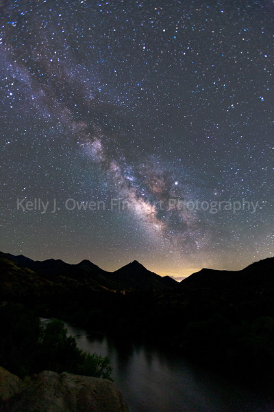 Milky Way, Kernville, CA