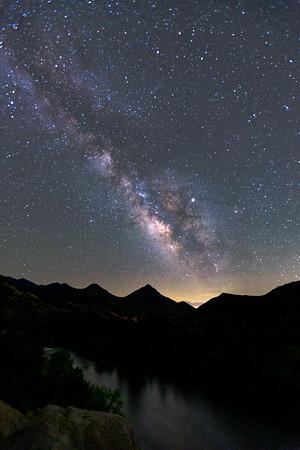Milky Way, Kernville, CA 2019