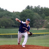 Shelby County Senior Legion pitcher Samuel Vonderheide throws a pitch during a legion baseball game against Lincoln Post 263 on Tuesday, June 29, 2021, at Shelbyville High School, in Shelbyville, Illinois.