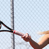 5-16-12<br /> Tennis Sectionals EHS vs Taylor, KHS vs Tipton<br /> EHS Amanda Alexander playing # 1 doubles.<br /> KT photo | Tim Bath