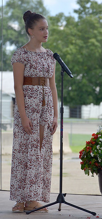Effingham County Junior Miss Contestant Lucy Silva