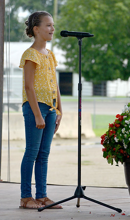 Effingham County Junior Miss Contestant Phoenix Scoles