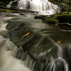 Water rushes ever downward at Tucker Falls in Milford, NH.