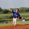 Shelby County Senior Legion's Kade Allen delivers a pitch during a baseball game against the Central (Ill.) Titans, Wednesday, July 7, 2021, at Shelbyville High School.