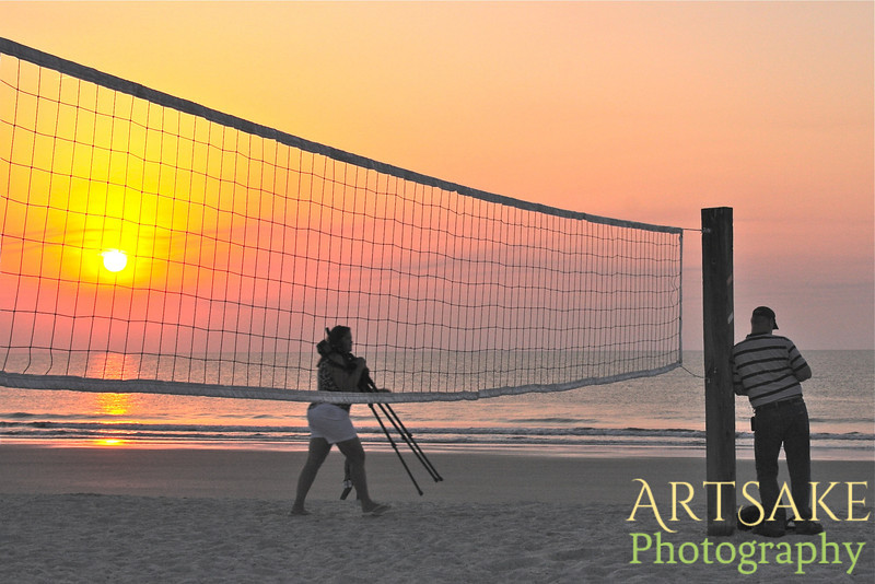 Sunrise on Fernandina Beach