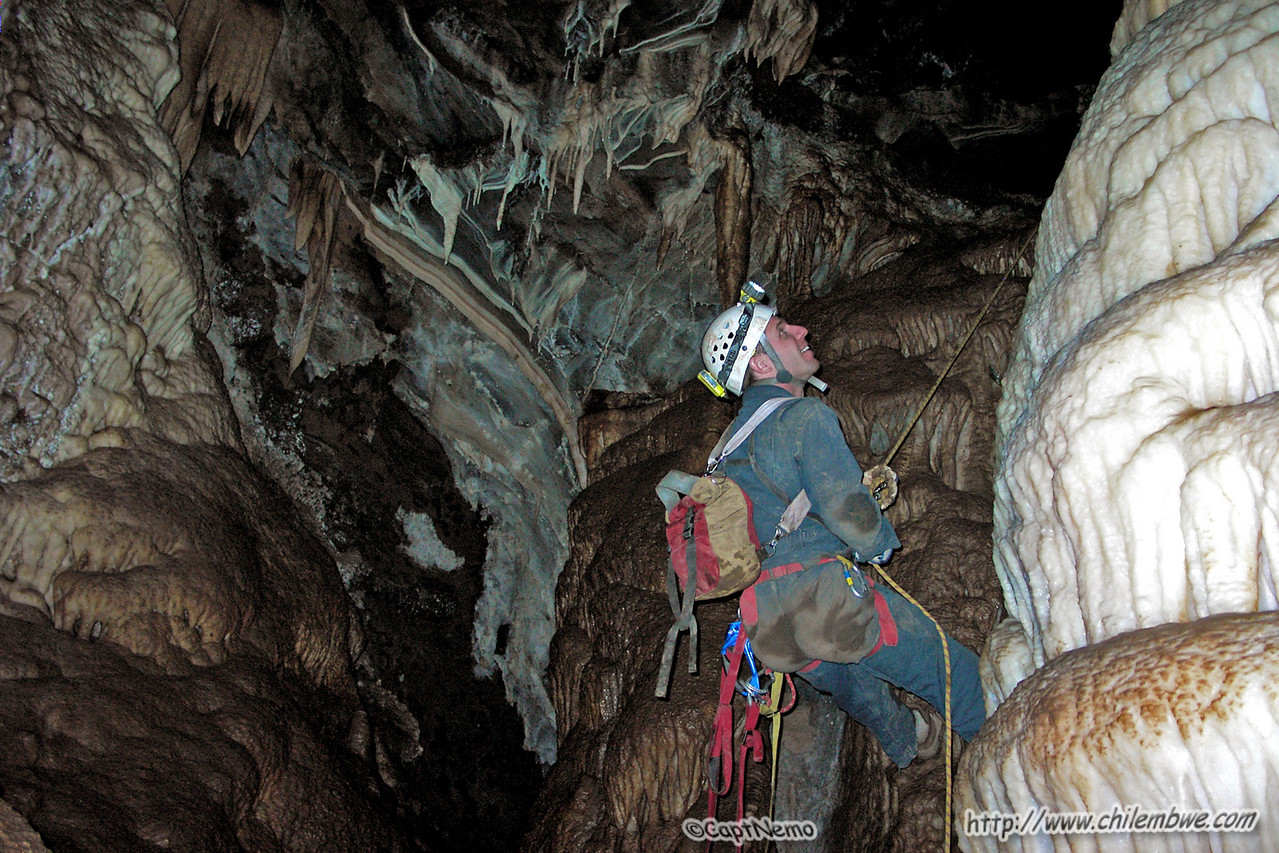 Kip in Lost soldiers cave