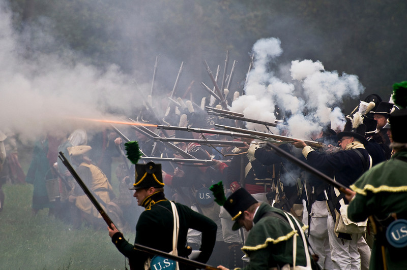 Mississinewa 1812 Re-enactment in Marion, IN...