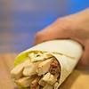 White meat chicken Wrap