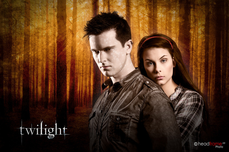 Twilight theme in studio with Sanna and Andre