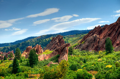 Roxborough State Park, Colorado - Late September 2011