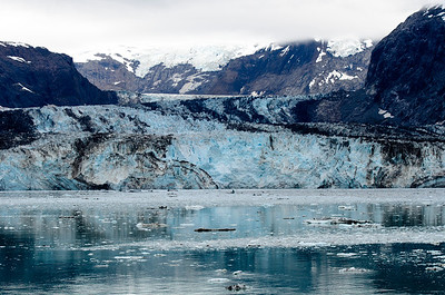 John Hopkins Glacier in Glacier Bay.