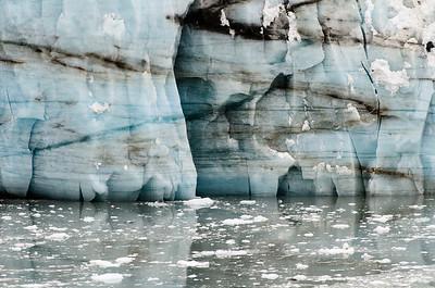 The Margerie Glacier in Glacier Bay.