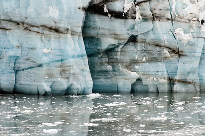 The Margerie Glacier in Glacier Bay.