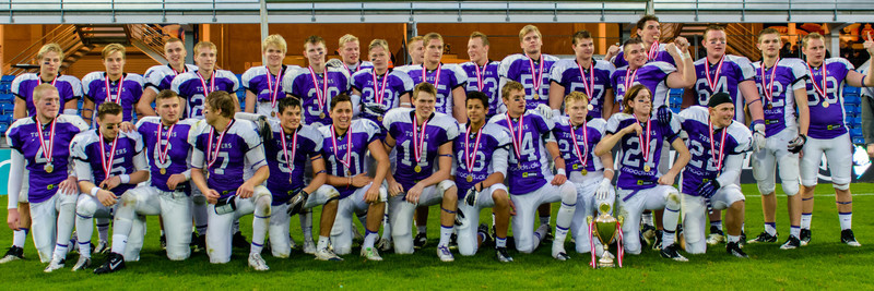 Junior Bowl 2013 - Victory formation
