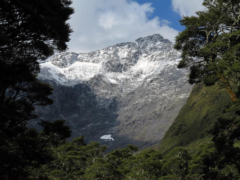 Fresh snow on Barrier Peak