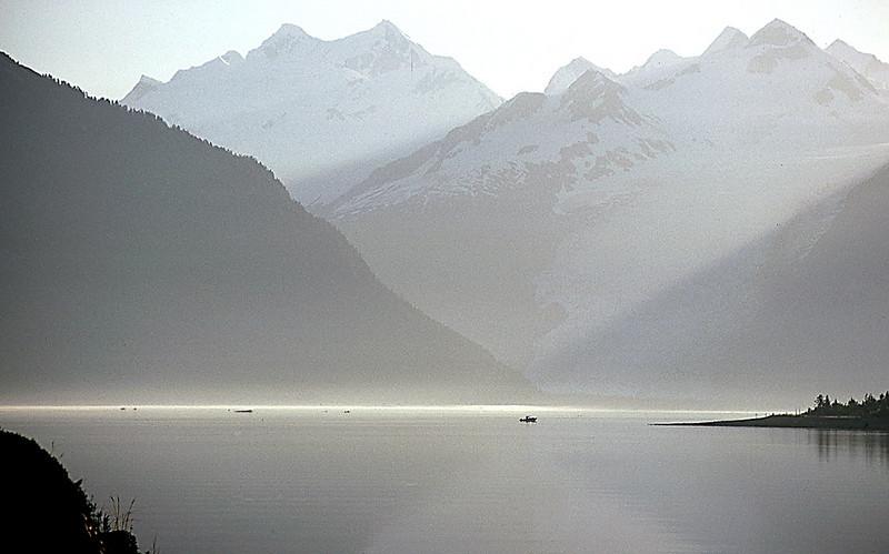 Morning, Harriman Fjord, Alaska