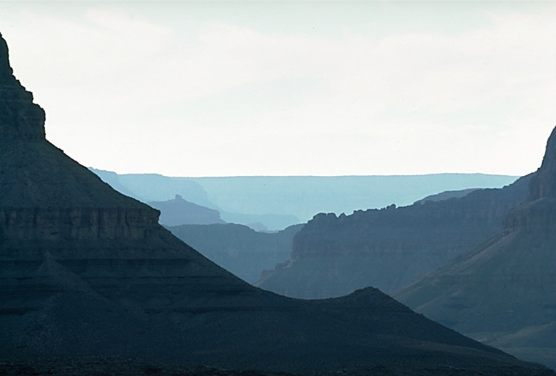 Dana Butte from the Tonto Platform, Grand Canyon National Park, Arizona