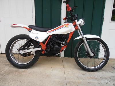 honda 1986 reflex 200
