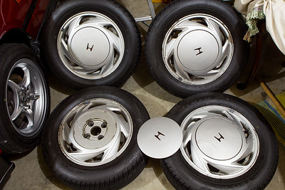 Honda Civic EF9 Alloys and tyres for sale