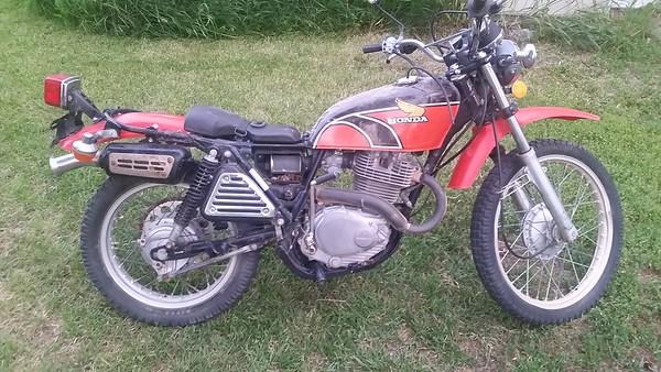 Honda XL350 1977