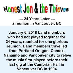 Honest Jon & the Thieves - 24 Years Later