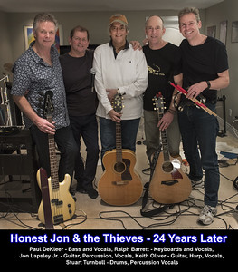 Honest Jon & the Thieves - Band Poster