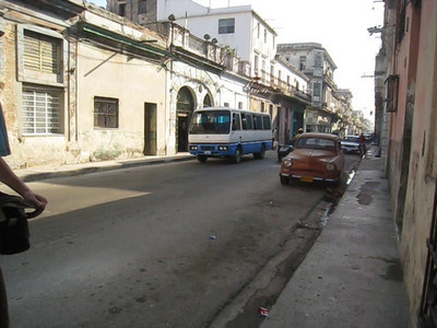 Centro Habana - sure, the old cars are beautiful to look at but they are so loud!