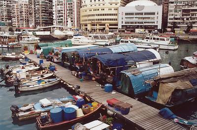 Hong Kong Sampans, Causeway Bay c SM