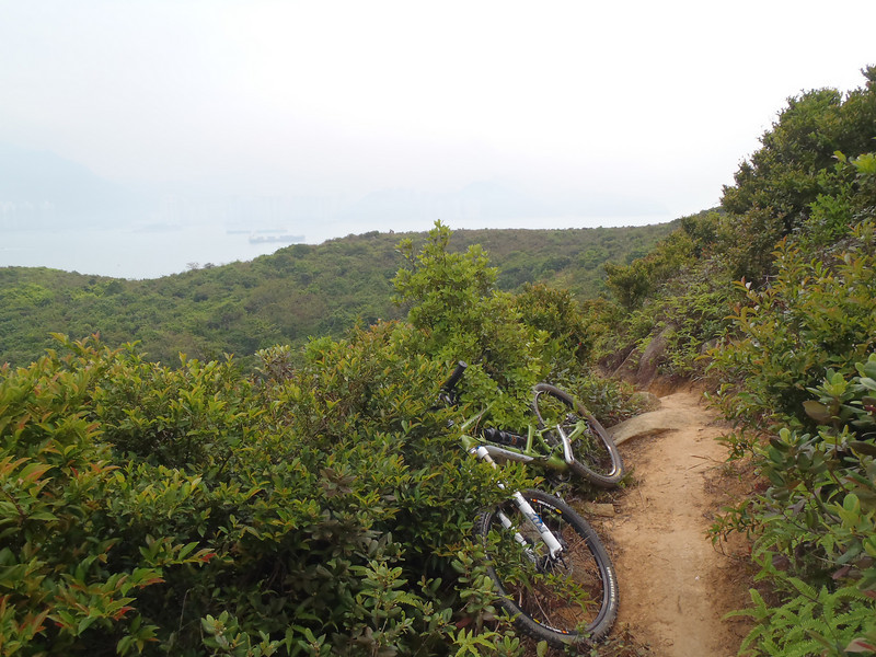 Lamma has an enourmous amount of walking/singletracks unencumbered by the rules of the HK government parks