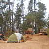 This participant found some great camping on the archery deck at Camp Ocean Pines venue in Cambria this year.