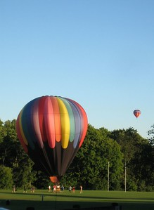 Balloons over MHC athletic fields