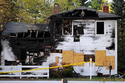 Houck House Fire
