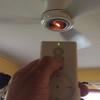 """Using a Minka Aire Concept II Ceiling Fan Remote<br /> <a href=""""https://youtu.be/_Uk8dabl88g"""">https://youtu.be/_Uk8dabl88g</a>"""