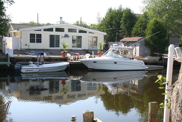 House across the lagoon
