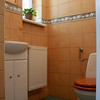 Lazienka dla gosci z oknem na wschod/  Guest toilet witha east window