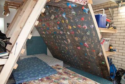Optional Climbing wall